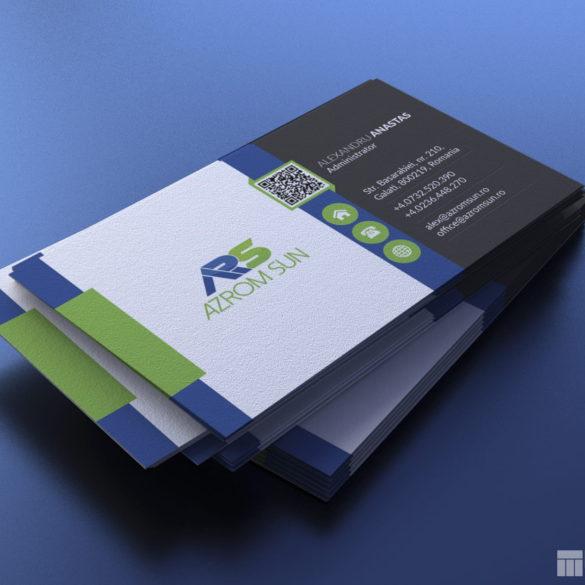Azrom Sun Business Card