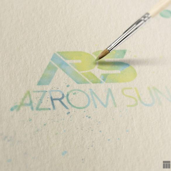 Azrom Sun Logo