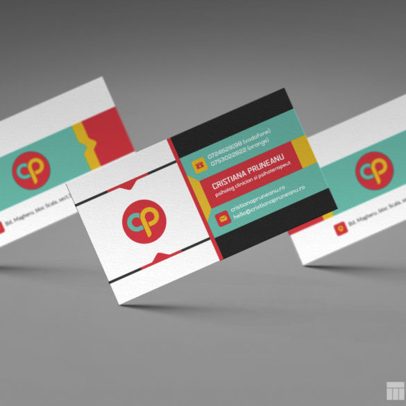 Cristiana Pruneanu Business Card