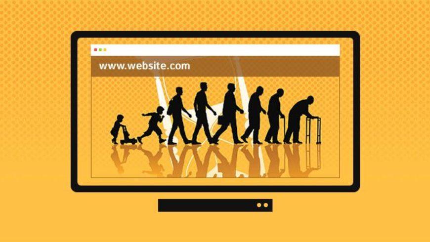Care este viața medie a unui Design Web?